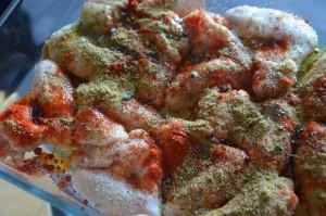 ailes de poulet croustillantes au four (recette mexicaine) 3