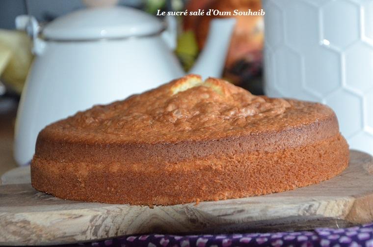 gâteau au yaourt moelleux et léger