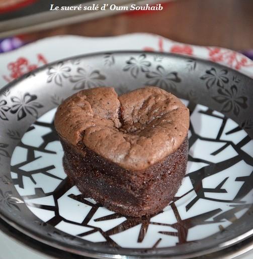 fondant au chocolat coeur coulant de Cyril Lignac