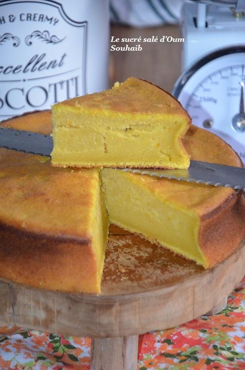 gâteau moelleux au potimarron et citron