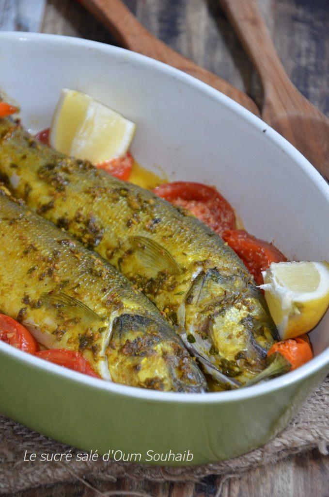 poisson-au-four-a-la-marocaine
