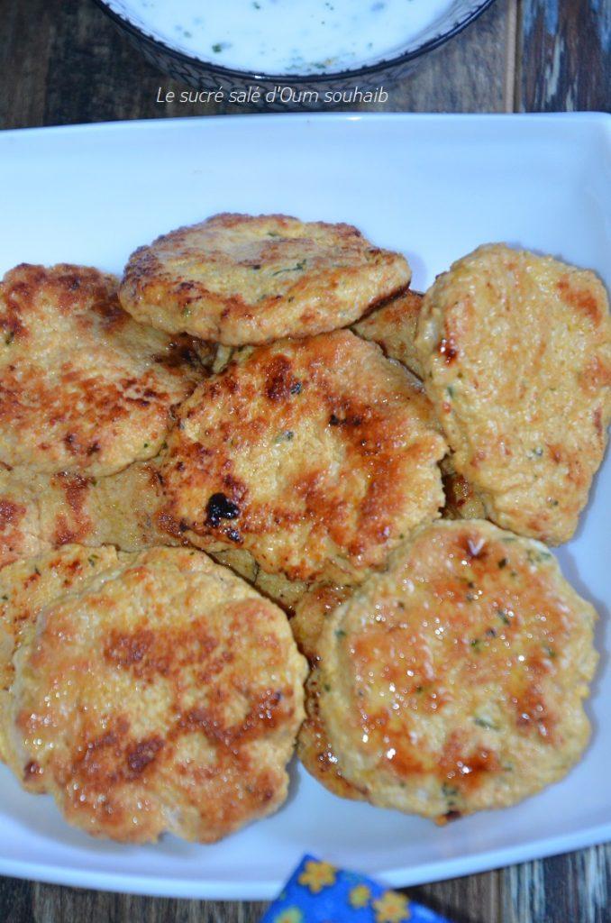galette-de-poulet-libanais
