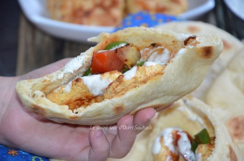 pain-pita-au-poulrt-recette-au-curry