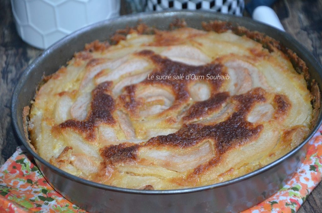 gateau-normand-aux-poires