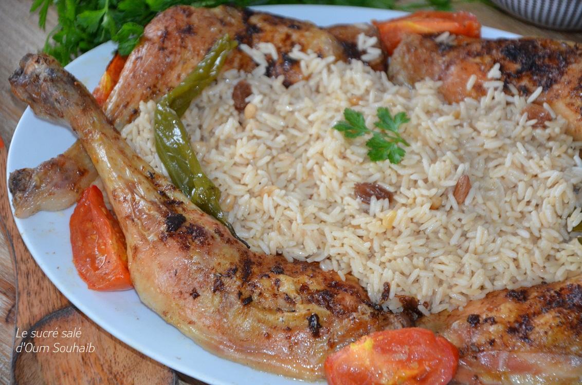 poulet-roti-turc-au-riz-pilaf