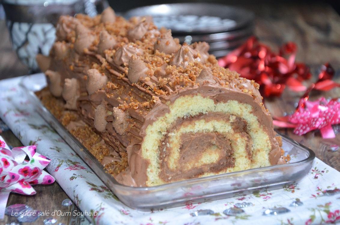 buche-gianduja-biscuit-vanille