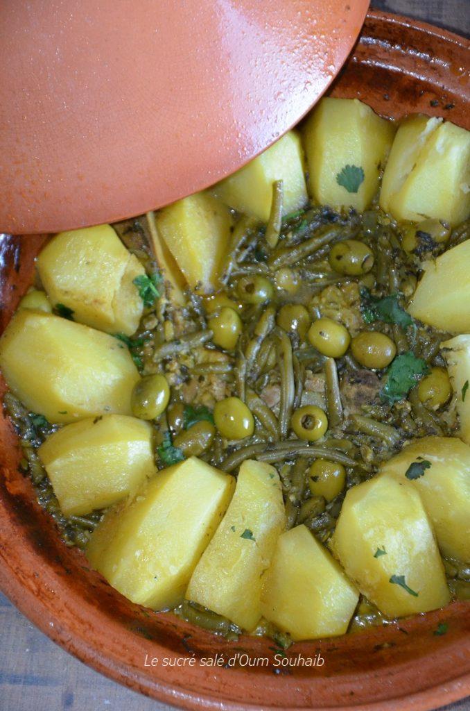 tajine-marocain-dharicots-verts