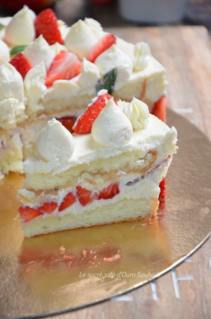 recette-fraisier-creme-mousseline