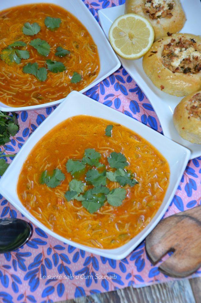 soupe-algerienne-aux-legumes-et-vermicelle
