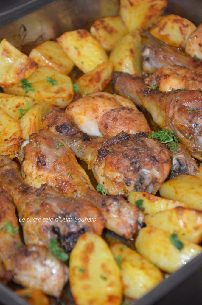 cuisses-de-poulet-au-four-libanais